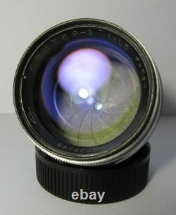 1963 50mm F1.5 Jupiter 3 lens RED P LTM Leica M39 screw mount VGC, great optics
