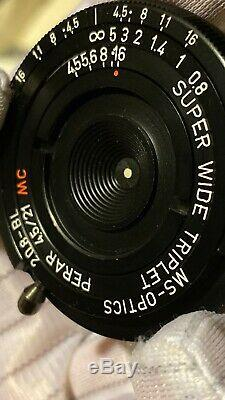 21mm 4.5 Ms Optics M Mount Leica