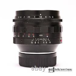 50mm F1.1 Voigtlander Nokton Leica M-mount Lens with Vented Shade, Ready to Shoot