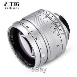 50mm F1.1 manuelle Fokus Objektiv für Leica M Mount Digital Spiegelloses Kameras