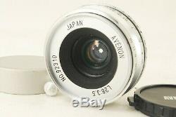 722 Avenon L 28mm F/3.5 for Leica L39 Screw Mount EXC+++ Very Rare