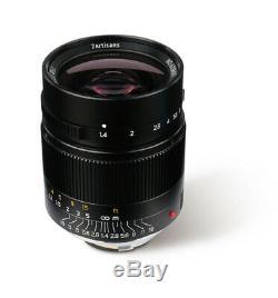7Artisans 28mm f/1.4 Aspherical lens for Leica-M-mount M6 M9 M240 M1028/1.4