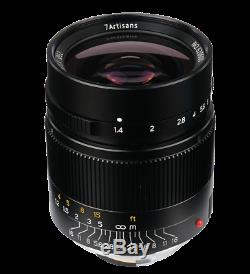 7Artisans 28mm f/1.4 Leica-M-mount BRAND NEW lens 28/1.4