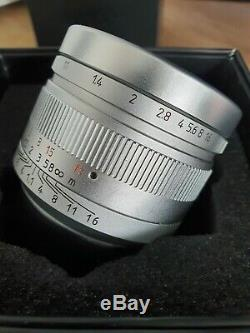 7 Artisans 50mm f/1.1 Leica M Mount Lens with variable ND filter