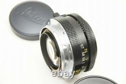 7 Elements LEICA SUMMICRON-M 35mm F2 3rd MF Lens for M Mount #200904h