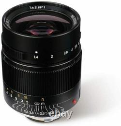 7artisans 28mm F1.4 Manual Focus Lens for Leica Mount M New, UK