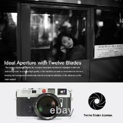 7artisans 50mm F1.1 Large Aperture Manual Focus Prime Fixed Lens F Leica M Mount