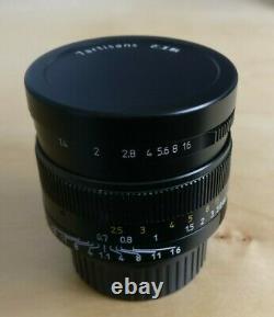 7artisans 50mm F1.1 Leica M Mount Lens Black Used Boxed UK seller