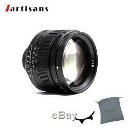 7artisans 50mm/f1.1 Leica Fixed Lens for Leica M-mount M-M M3 M4 M6 M7 M8 M9 M24