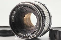 AMAZING! OPT Near MINT Canon 35mm f/1.8 Leica Screw Mount L39 LTM from JAPAN