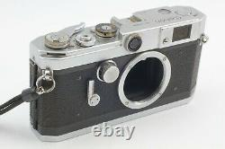 AS-IS Canon VL2 Rangefinder Camera with 50mm f/1.8 Leica Screw Mount Lens #C2034