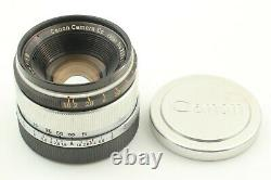 Almost MINT Canon 35mm f1.8 MF Lens Leica Screw L Mount LTM L39 from Japan