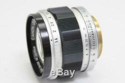 Almost MINT Canon M39 L39 LTM Leica Screw Mount 50mm f1.4 MF Lens JAPAN 0725H