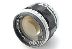 Almost Mint Canon 50mm f/1.4 L39 M39 LTM Lens Leica Screw Mount JAPAN 1039