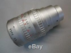 Angenieux S5 1.5/50mm C-mount Lens Movie Camera Digital Super Six Adapt Leica