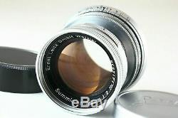 B- Good Leica Summicron 5cm 50mm f/2 Lens Collapsible for M Mount JAPAN 5984