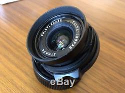 Boxed Voigtlander Color Skopar 21mm f/4.0 Lens Leica M Mount