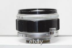 CANON 50mm F/1.2 Leica screw mount L39 LTM Lens Made In Japan