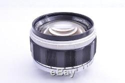 CANON 50mm f1.2 Leica 39mm LTM Leica screw mount From JAPAN