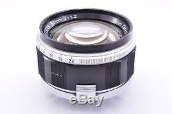 CANON 50mm f1.2 Leica 39mm LTM Leica screw mount From JAPAN Good Condition