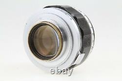 CANON 50mm f/1.2 Rangefinder SM Leica screw mount L39 LTM Lens withM-Mount Adapter
