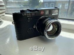 CARL ZEISS Planar 50mm F2 Black Lens For M Mount Leica