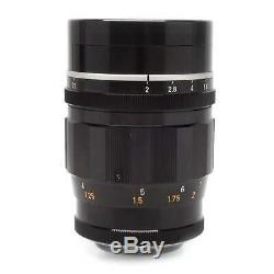 Canon 100mm f2 LTM M39 Leica Mount Rangefinder Lens
