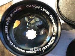 Canon 1,4 50mm LTM Leica M39 screwmount lens japan. Summilux ad M EOS R Sony A7