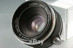 Canon 35mm F/2.8 F2.8 L39 LTM Leica Screw Mount 31344 #17