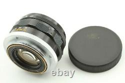 Canon 35mm F/2 Leica with Filter LTM L39 Screw Mount MF Wide Angle Lens From Japan