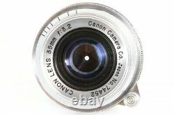 Canon 35mm F/3.2 Lens Leica Screw Mount LTM L39 from Japan 74452 Exc++