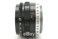 Canon 35mm f2 Leica Screw Mount L39 LTM Lens (290-Z 4)