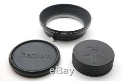 Canon 35mm f/1.5 Lens for Leica L39 Mount LTM with Hood w-50 JAPAN k328