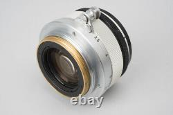 Canon 35mm f/1.8 F1.8 Lens, For Canon Leica Rangefinder L39 M39 LTM Screw Mount