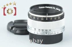 Canon 35mm f/1.8 L39 LTM Leica Thread Mount Lens