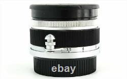 Canon 35mm f/2.8 MF Wide Angle Vintage Lens Leica Screw Mount L39 LTM from Japan