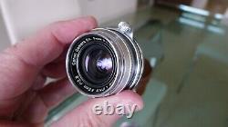 Canon 35mm f/2.8 VINTAGE Rangefinder Lens in Leica L-39 (LTM) screw mount