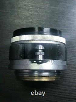 Canon 35mm f/2.8 f2.8 Lens, For Leica Screw LTM L39 Mount