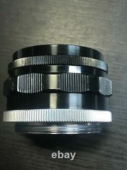Canon 35mm f/2 f2 Manual Focus Lens, For Leica Screw LTM L39 Mount
