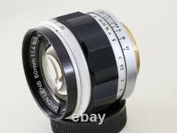 Canon 50mm F1.4 Leica Screw Mount LTM39 Lens, Exc From Japan#2819