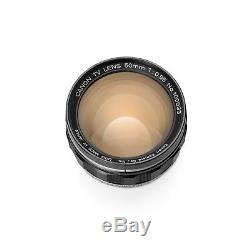 Canon 50mm F/0.95 Lens in Leica M Mount 6 bit Noctilux Recent CLA & MINT Glass