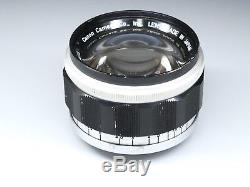 Canon 50mm F/1.2 f1.2 LTM Lens, Leica M39 L39 Screw Mount for M Rangefinder