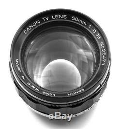 Canon 50mm/f0.95 Dream Lens converted to Leica M Mount (14 available)