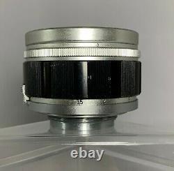 Canon 50mm f1.2 LTM LSM L39 LEICA mount FOR PARTS/REPAIR
