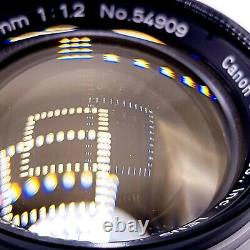 Canon 50mm f1.2 Leica 39mm LMT Screw Mount