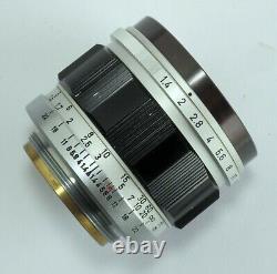 Canon 50mm f1.4 L39 LTM Leica Screw Mount Lens & S50 Hood Great Optics EXC+++
