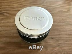 Canon 50mm f/0.95 Dream Lens in Leica M Mount + Filter & Pouch Beautiful