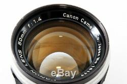 Canon 50mm f/1.4 Leica Screw Mount LTM L39 M39 READ withFilter From Japan 4431