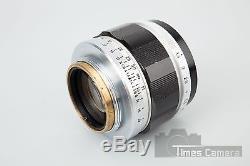 Canon 50mm f/1.4 f1.4 LTM Lens, For L39 M39 Screw Mount, Suit Leica Rangefinder