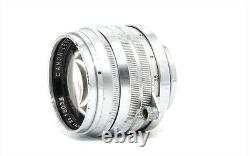 Canon 50mm f/1.5 Vintage Standard Prime Lens Leica Screw Mount LTM L39 Japan